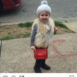 Other - Custom made real fur vest